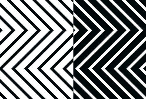 One image shows a pattern used for an album design by Identity Lab.