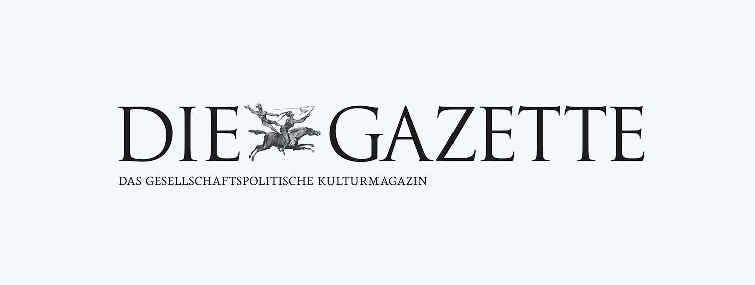 The picture shows the logo of Die Gazette.